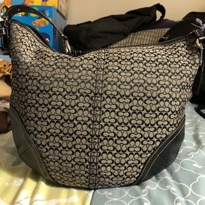 Coach signature hobo bag and wallet